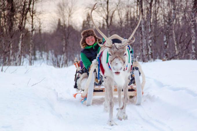 Reportage: Op bezoek bij de Sámi.