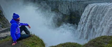Dettifoss. IJsland