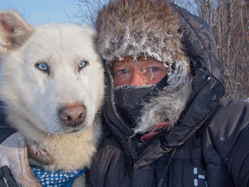 41 graden onder nul…