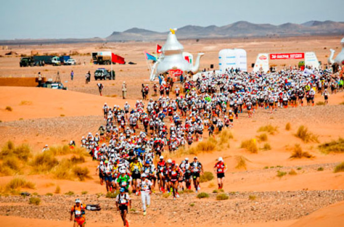 MDS 2011 – Dag 2 – 38 km: The heat goes on