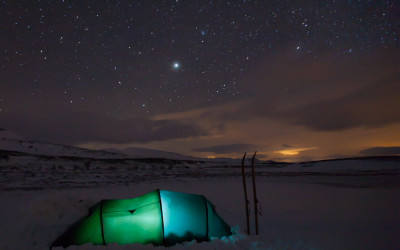 nacht over Dovrefell