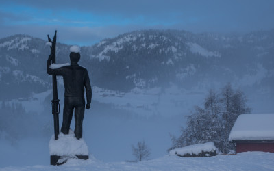 Sondre Norheims standbeeld