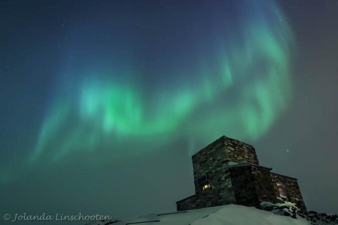 Haldde's oude noorderlicht observatorium