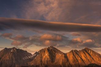 10-daagse wildernis foto-trektocht Lyngen Alpen