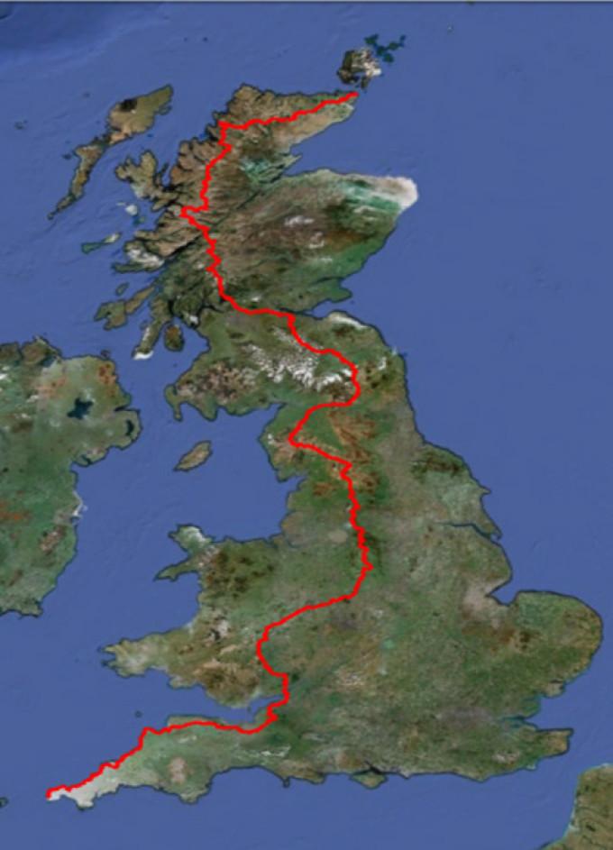 Mijn route