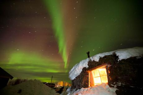 Zweeds Lapland in de winter