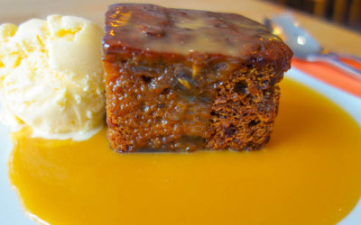 Sticky Toffee Lunch