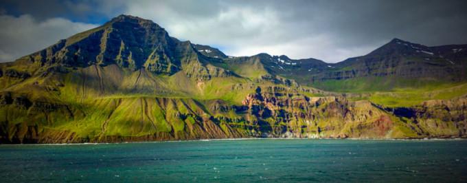 Aankomst op IJsland