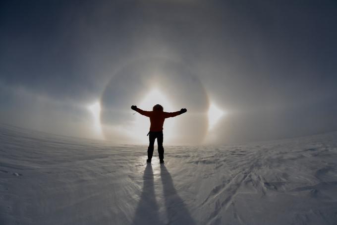 Reportage: op maatje 45 over de ijskap