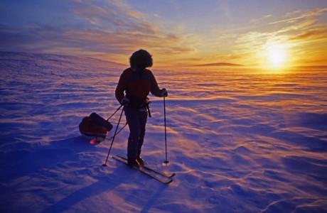Op ski's naar de Noordkaap