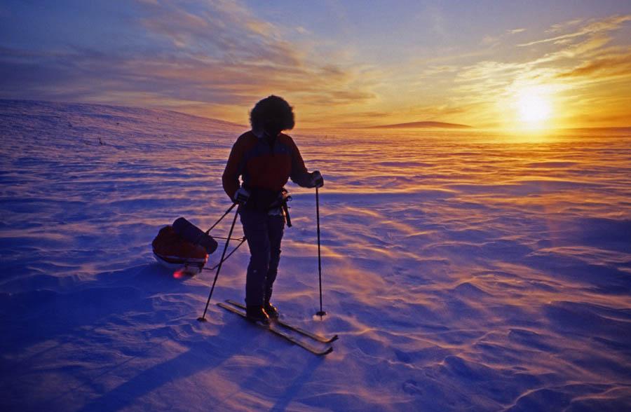 Reportage: 'Op ski's naar de Noordkaap'