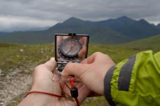 Cursus kaart, kompas & GPS trekking Schotland