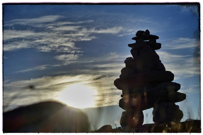 Reportage-Rondane: steentijd